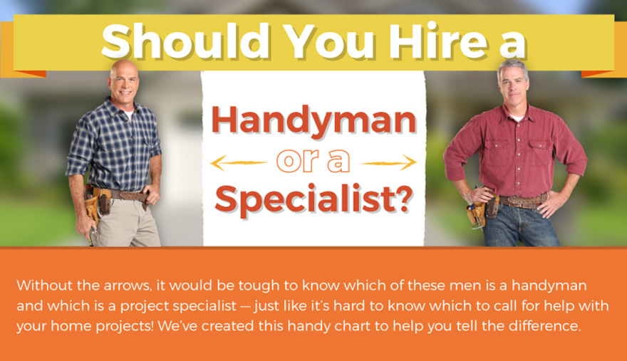 Should You Hire a Handyman or a Specialist