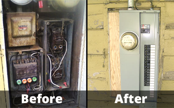 Electrical Panel Upgrades in Miami Dade, Broward and West Palm Beach Counties